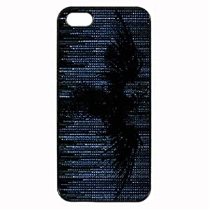 Bird on matrix Image Protective Iphone 5s / Iphone 5 Case Cover Hard Plastic Case for Iphone 5 5s