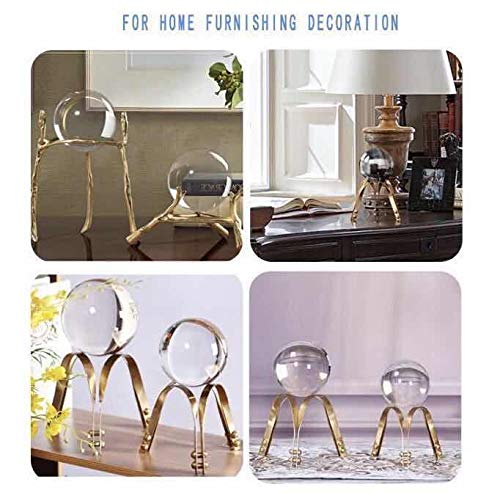 JIHUI Crystal Ball Photography Lensball, K9 Crystal Ball Clear 3-1/5'' (80mm) with Crystal Stand and Pouch for Decorative Photography Prop by JIHUI (Image #5)