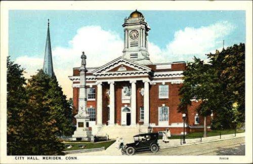 City Hall Meriden, Connecticut Original Vintage Postcard -