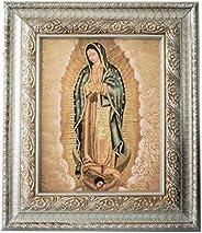 Cuadro Virgen de Guadalupe 37x32cm Marco Religioso Virgencita
