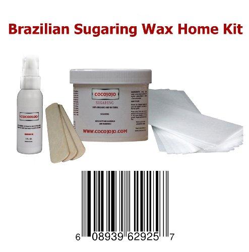 Cocojojo Sugaring Brazilian Wax Kit product image