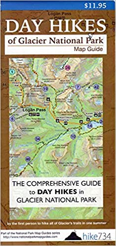 Day Hikes of Glacier National Park Map-Guide: Jake Bramante ...