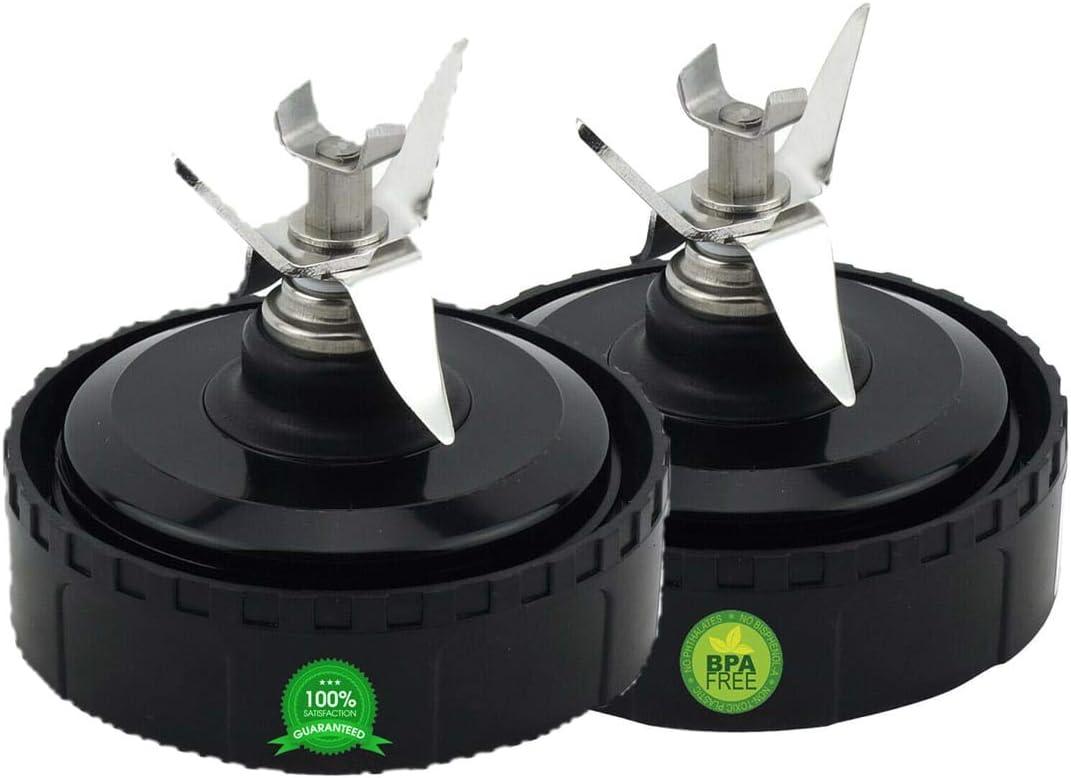 2 Pack Blender Blade compatible With Nutri Ninja 16 Oz Blender Models BL770, BL771,BL773CO,BL660,BL740, 322KKU770 Blender