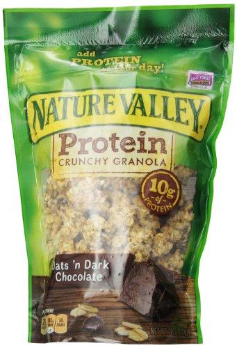 Nature Valley Granola, Protein, Oats N' Dark Chocolate, Crunchy Granola Bag, 11 oz