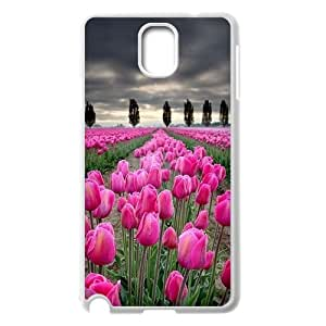 Unique Design -ZE-MIN PHONE CASE- For Samsung Galaxy NOTE3 Case Cover -Beautiful Holland Tulip Flower-CUSTOM-DESIGH 16