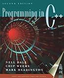 Programming in C++ 9780763714246