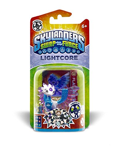 Skylanders SWAP FORCE Lightcore Figure FLASHWING (Dispatched from UK)