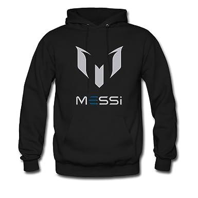 Youth Boy jugador de fútbol Messi Logo Gildan con capucha sudadera chaqueta sudadera con capucha negro: Amazon.es: Ropa y accesorios