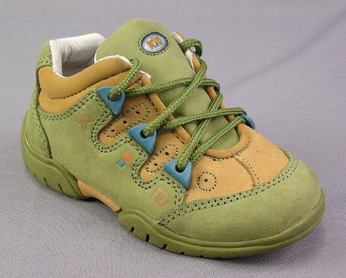 Kinder Halbschuhe Lederschuhe Schuhe Jungen olive beige Spielschuhe Sneaker