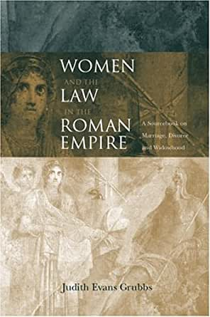 Amazon.com: Women and the Law in the Roman Empire: A