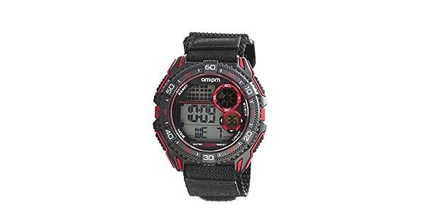Amazon.com: AM: PM pc166-g404 Men s digital reloj deportivo ...