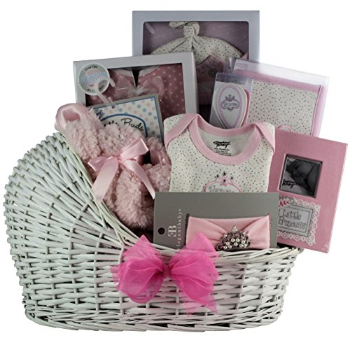 GreatArrivals Gift Baskets Little Princess Baby, Girl (Princess Gift Baskets)