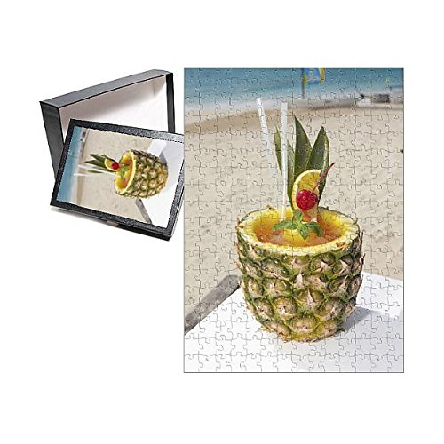 (Media Storehouse 252 Piece Puzzle of Rum Punch in Pineapple (11171742))