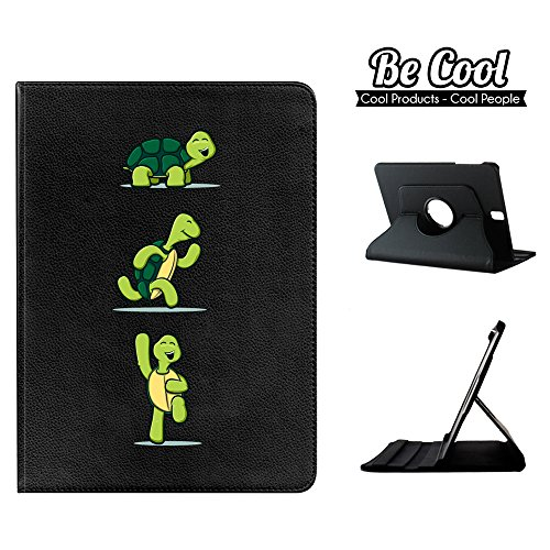 BeCool - 360 Degree Rotating Tablet Case Flip Folio Stand to protect your Samsung Galaxy Tab S3, with a rotation system and stand function in colour Turtle mood states