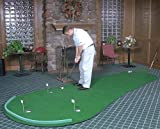 Big Moss Golf THE GENERAL 6' X 12' Practice Putting Chipping Green w/ 3 Cups