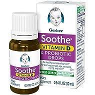 Gerber Soothe Baby Probiotic Drops, 0.34 fl oz