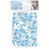 Sara Davies Winter Wonderland Collection 5x7 Embossing Folder - Entwined Holly