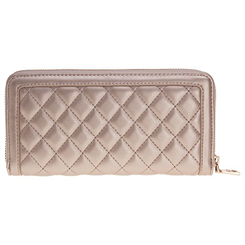 Love Moschino Quilted Womens Purse Gold by Love Moschino (Image #2)