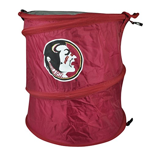 NCAA Florida State Seminoles 3 in 1 Trash Can Hamper Cooler Red Beach Home Noles (New York Jets Hamper compare prices)