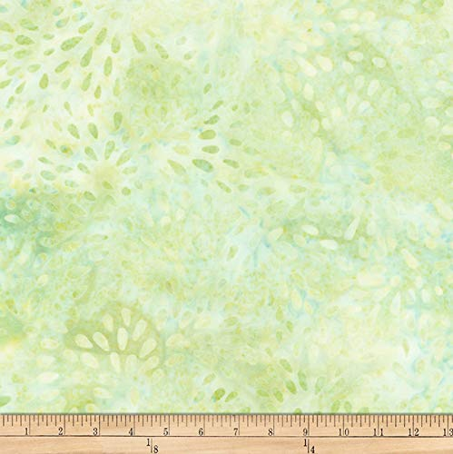 Robert Kaufman Elementals Petals Batik Petals Fabric, Pear, Fabric By The Yard