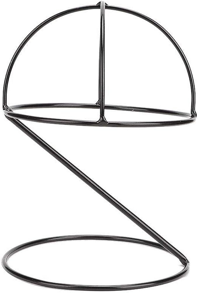 Hutst/änder,Hutablage aus Metall Hut Display Rack Metall einfache Sport Cap Holder Storage Stand Regal