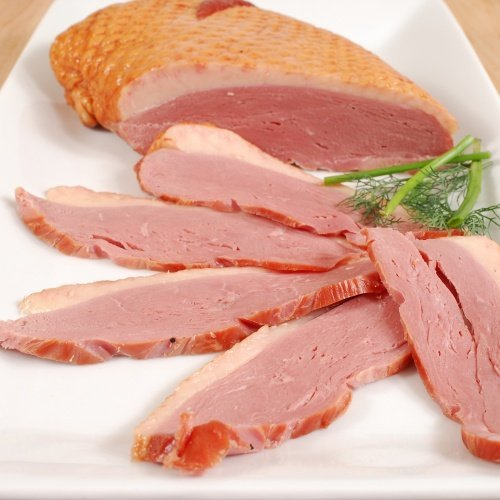 Smoked Duck Breast Magret - Whole Breast (Duck Prosciutto) - 1 piece x 0.8 - 1.1 lbs (avg weight)