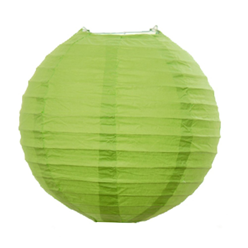 VEECOME Home Round Chinese Style Paper Lanterns Lamp Shades for Party Decor