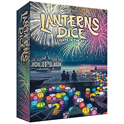Lanterns Dice- Lights in The Sky: Toys & Games