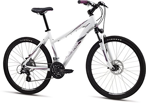 "Mongoose M13SWIFS Women's Switchback Expert Mountain Bike with 26"" Wheels and Small Frame Size, White"