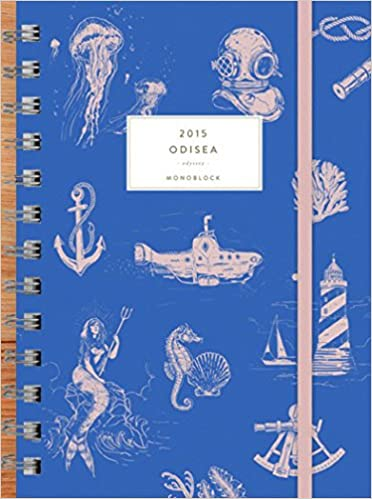 Agenda anillada Odisea 2015 (Spanish Edition): Lucas Lasnier ...