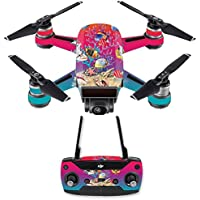 Skin for DJI Spark Mini Drone Combo - Coral Garden| MightySkins Protective, Durable, and Unique Vinyl Decal wrap cover | Easy To Apply, Remove, and Change Styles | Made in the USA