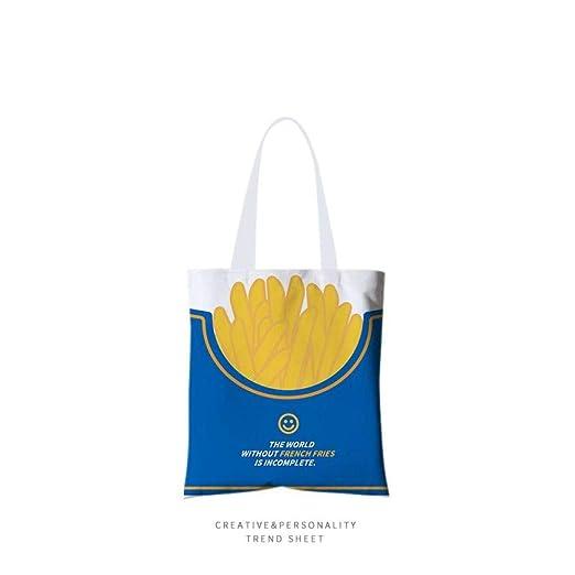 Tote Bag,Deliciosas Papas Amarillas Comida En La Parte ...