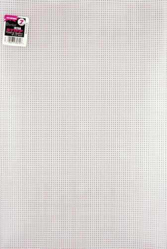 Darice 27093252 Plastic Canvas 12x18 Clear