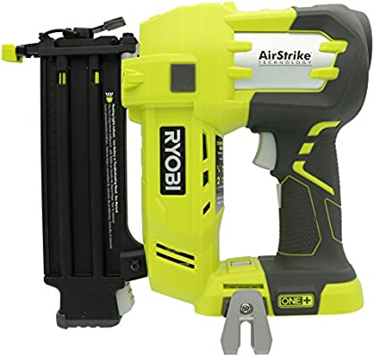 Ryobi P320 Airstrike 18 Volt One Lithium Ion Cordless Brad Nailer Battery Not Included Power Tool Only
