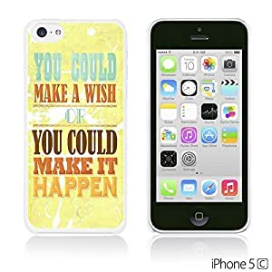 Typography Pattern Hard Back Case forDiy For Iphone 6Plus Case Cover Make It Happen