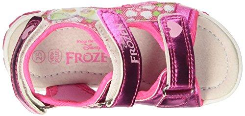 Disney Baby Mädchen S17468haz Krabbel-& Hausschuhe Rosa (Fuxia)
