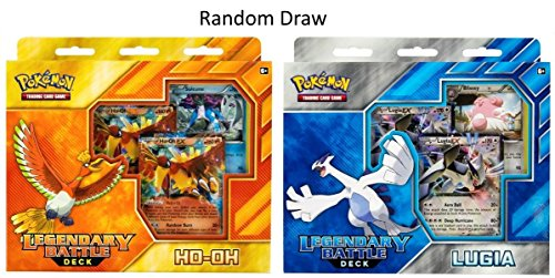 Pokemon TCG: Legendary Battle Deck, Random Draw of Ho-Oh or Lugia (Legendary Battle Decks Ho Oh And Lugia)