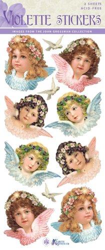 Violette Stickers Vintage Angels