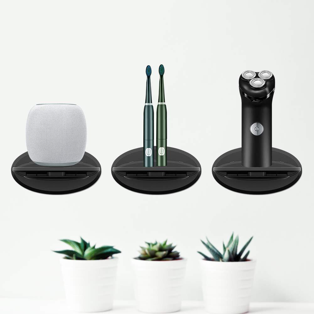 Google Home Mini telecamere di sicurezza con cavo per qualsiasi cosa fino a 6,8 kg Mensola da parete per Sonos Play 1 Google Home altoparlanti domestici Google WiFi Sonos One smartphone