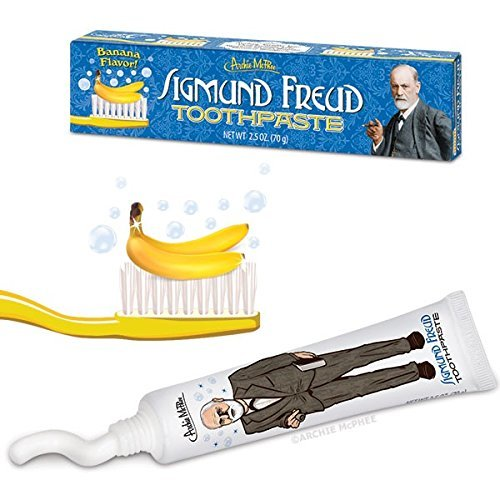 Accoutrements Sigmund Freud Toothpaste