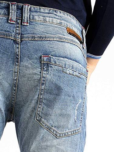 JEANS para Y TWO Hombre Vaquero Jeans 7TwzxAq5