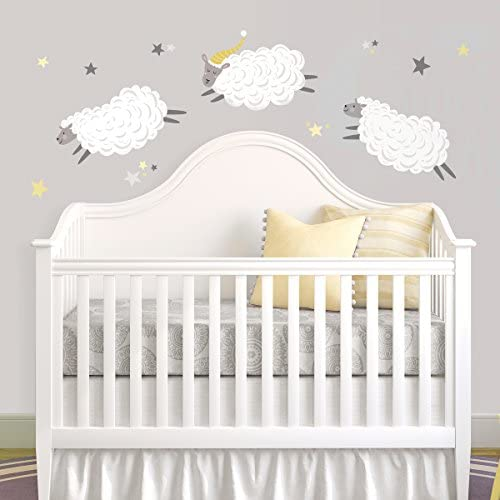 Counting Sheep Repositionable Removable Decals