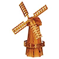 Garden Oaks Specialties Medium Wooden Windmill