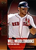 2013 Topps Chasing The Dream Baseball Card IN SCREWDOWN CASE #CD-3 Will Middlebrooks Red Sox Mint