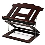 Tabletop Shtender Book Stand Two Tone Wood with 2 Positions