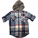 Tommy Hilfiger Button Down Hoodie, Boys