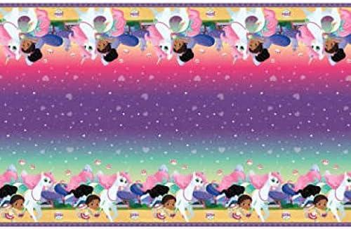 Rectangular Plastic Table Cover Nella the Princess Knight 54 x 84 1 Pc.