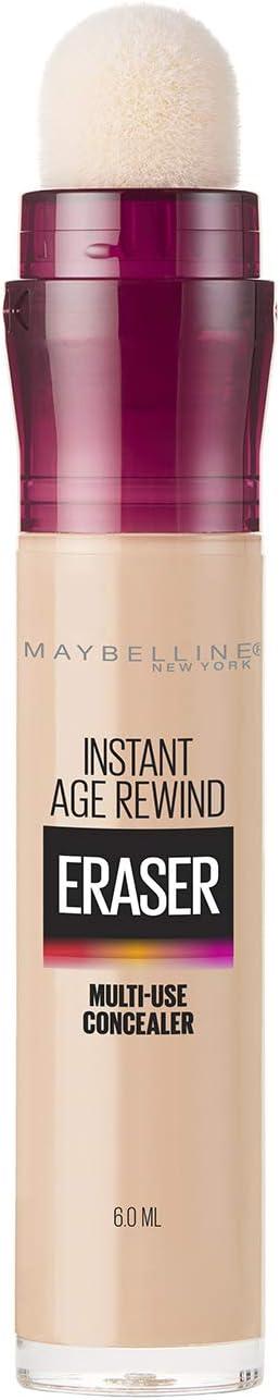 Maybelline Corrector de Maquillaje Instant Age Rewind, Light, 6 g: Amazon.com.mx: Salud y Cuidado Personal