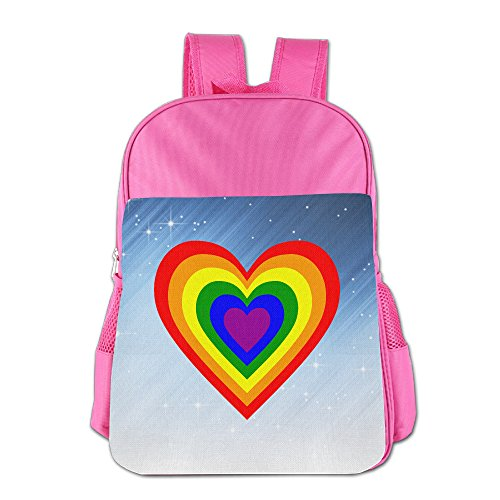 XianNonG RAINBOW HEART Boys And Girls Cute School Bags - Reeves Sunglasses Keanu