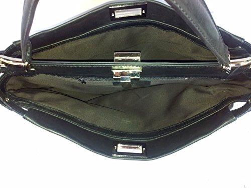 modello pelle Donna Made vera in Firenze Nero Superflybags morbida in Italy sauvage Borsa fx1Rnna0
